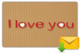 Spedisci la Gift Card via email
