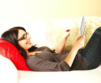 Relax con Kobo Touch