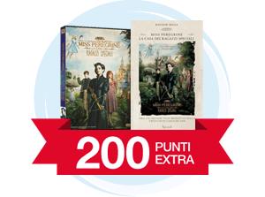 200 punti extra se acquisti il DVD e il Libro di Miss Peregrine