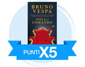 Punti X5 sul nuovo libro di Bruno Vespa