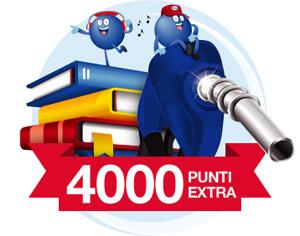 4.000 punti extra con Mondadori e Esso