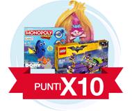 Punti x10 su tutti i giocattoli!
