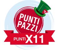 PUNTI PAZZI X11