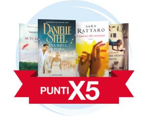 Punti X5 su una selezione di libri a tema Romance