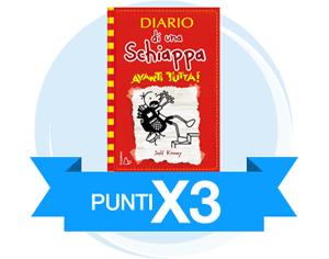 Punti X3 sul nuovo libro Diario di una schiappa. Avanti tutta!
