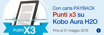 Kobo Aura H2O punti X3