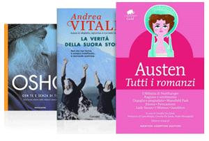 Due libri a partire da 9,90 euro