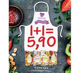 oglia di cucinare: due libri di cucina Demetra a 5,90 euro