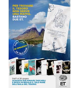 Acquista 2 libri Einaudi Tascabili e ricevi in omaggio il telo mare