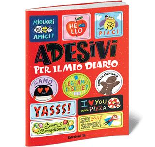 Acquista due libri Einaudi Ragazzi, Edizioni El, Emme Edizioni e avrai in omaggio un libro di adesivi