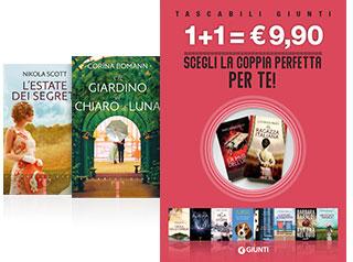 Scegli la coppia per te: due tascabili Giunti a 9,90 euro