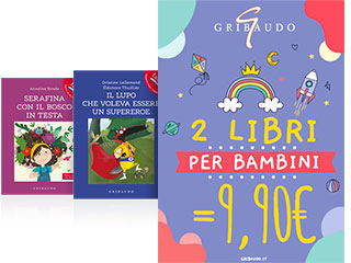 2 libri per bambini Gribaudo a 9,90€