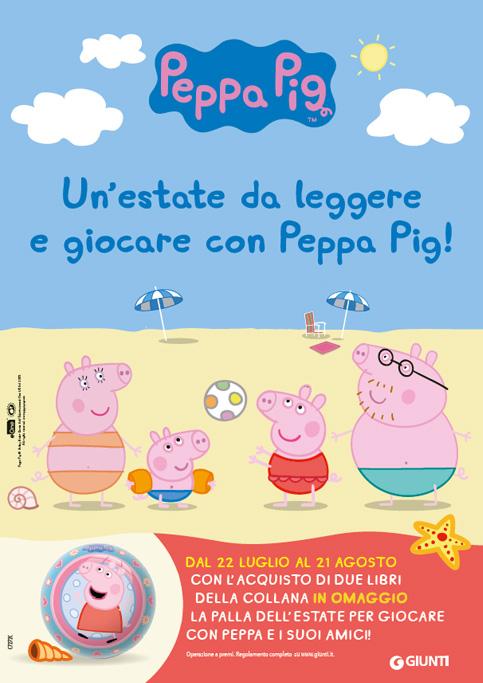 Acquista 2 libri della collana Peppa Pig  e riceverai in omaggio la palla