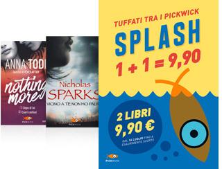 Pickwick Splash due libri a 9.90
