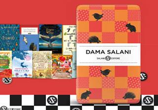 Acquista due libri per ragazzi Salani e avrai in omaggio una dama portatile