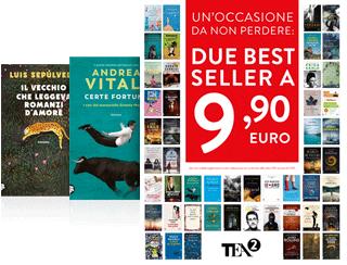 Un'occasione da non perdere: due Bestseller TEA a 9.90 euro