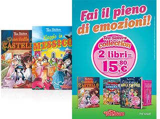 Tea Sisters due libri a 15,80 euro