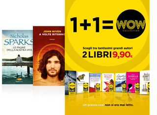 Wow Collection due libri a 9.90