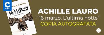 Achille Lauro libro autografato