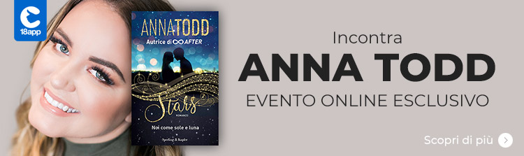 Anna Todd in collegamento da Los Angeles incontra i fan in un evento online esclusivo
