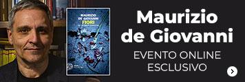 Maurizio de Giovanni evento online