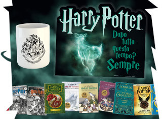 Acquistando due libri Harry Potter avrai in omaggio una bellissima tovaglietta