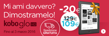 Superofferta Kobo GLO HD 109€
