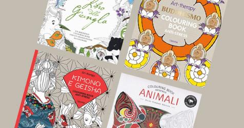 Libri Da Colorare Per Adulti Colouring Book Antistress