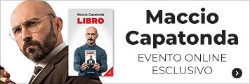 Maccio Capatonda evento online