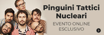 Pinguini evento online