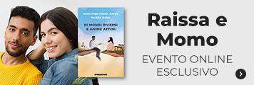 Raissa e Momo evento online
