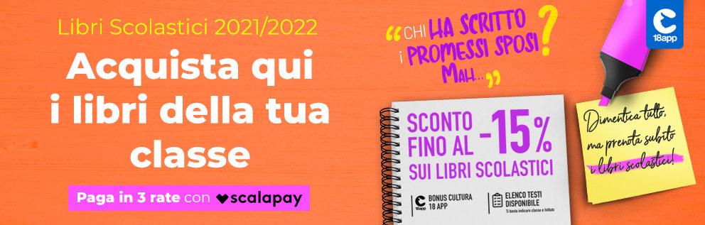 Acquista qui i libri della tua classe - Libri Scolastici 2021/2022