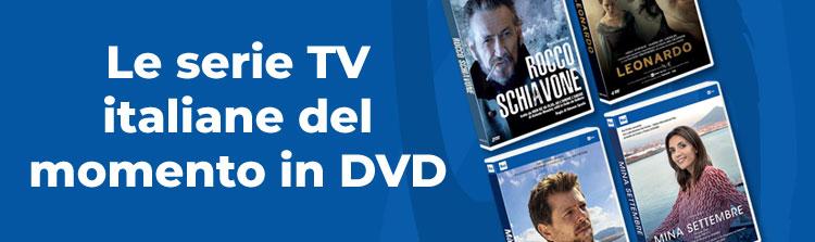 Le serie TV italiane del momento in DVD